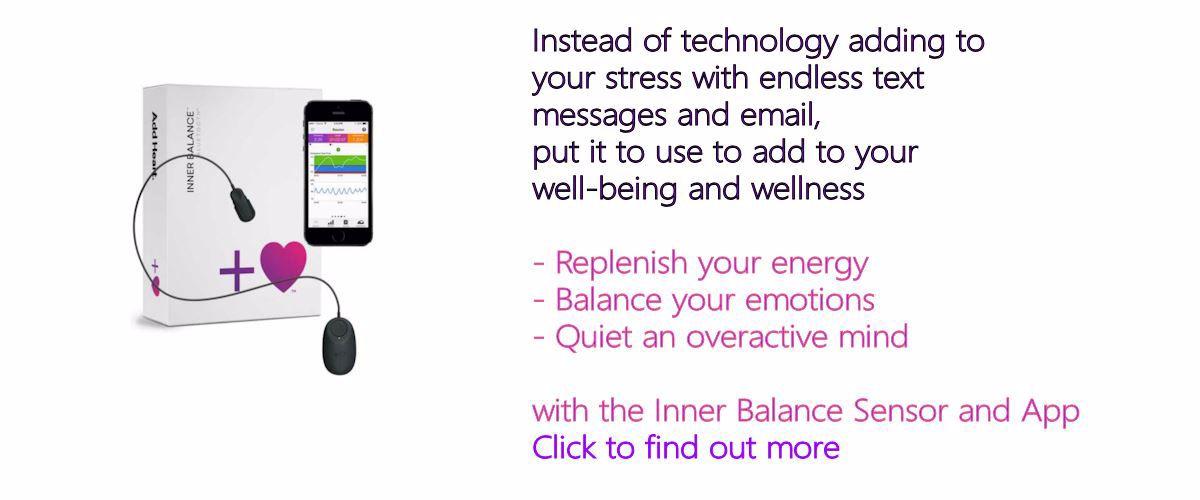 Image of HeartMath(tm) Inner-balance Senser